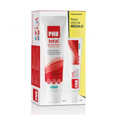 Pack Pasta PHB Total 100ml + 25ml Gratis